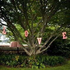 Hanging Wedding Tree Decor