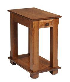 Hampton 450 Chairside Table - Ohio Hardwood Furniture living room side table