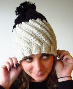 Wool Cherry | Patron gratuit de ce bonnet Phildar twisté