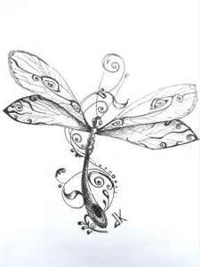 Dragonfly Drawings Tattoo