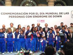En la Celebración por el día Mundial de las Personas con Síndrome de Down.