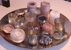 Candle vignette