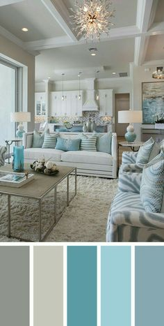 Summer colors and decor inspired by coastal living Create a beachy