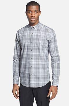 Men's Theory 'Wilten.Claybrook' Slim Fit Sport Shirt