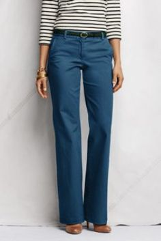 04840ed8c85cd Women s Fit 2 Stretch Chino Trousers from Lands  End. Big fan of these!