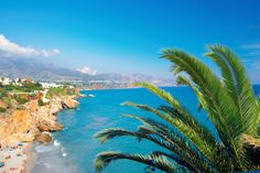Five best beaches to visit in Spain. Costa del Sol, Spain