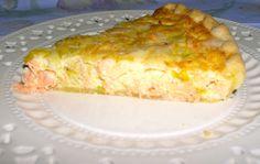 """Quiche de salmón y puerros.    Receta de Julia Child en """"Mastering the art of French cooking"""""""