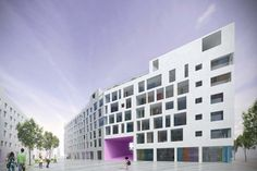 Capella park street Housing, competition entry
