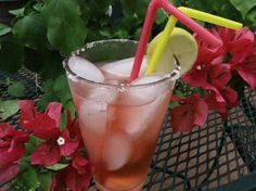 Cheesecake Factory's J. W. Pink Lemonade - @Jaime Knacke - had this when I was in AZ and it's soooooo good.  Goes down a little too easy, if you know what I mean ;0)