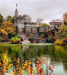 Belvedere Castle in Central Park by @neiasnmoore by newyorkcityfeelings.com - The Best Photos and Videos of New York City including the Statue of Liberty Brooklyn Bridge Central Park Empire State Building Chrysler Building and other popular New York places and attractions.