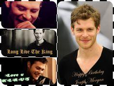 Joseph Morgan #Klaus Happy Birthday Love