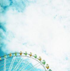 under the blue sky 。+* by mayu♪, via Flickr