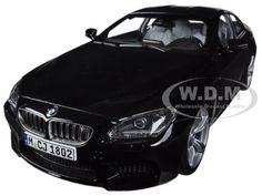 BMW M6 F13M COUPE BLACK SAPPHIRE 1/18 DIECAST CAR MODEL BY PARAGON