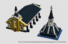 https://flic.kr/p/BUDiWC | Church of Santa Rosa (New Spire&Unfinished Part)