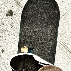 New board,new shoes,new grip.. #PUMASkateSuedes