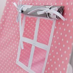Teepee Tent  Cloudy Rose by FUNwithMUM on Etsy