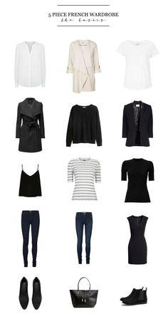 5 Piece French Wardrobe | The Basics | Shakespeare & Sparkle