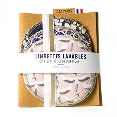 amyris-design-developpement-durable-zero-waste-responsable-ethique-coton Vigan, Design, Leather Case, Travel, Makeup Remover Wipes