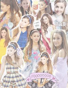 Ariana Grande Collage by LovingTheIdols