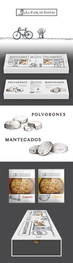 Packaging La Flor de Estepa - Designed by LeBranders time for a cookie break #packaging PD