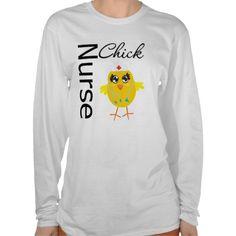 Nurse Chick Tee Shirts