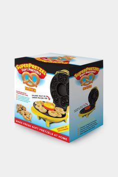 Super Pretzel Soft Pretzel Maker. Who needs this? I DO.