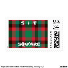 "Royal Stewart Tartan Plaid Stamps #Royal #Stewart #Tartan #Plaid #Stamps Sit Square quality tartan . Which means "" #Kaa #square in #Swahili"" Its not just the #Kenyan #Maasai who love colors of checkered black and red but travel to the west and you find the traditional Scottish people who have the tradition of wearing the amazing checkered pattern."