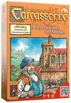 Carcassonne Burgemeesters & Abdijen uitbreidingset- Bordspel