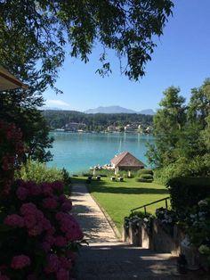 Woerthersee_Seeschloessl_002 Austria, Europe, Mansions, House Styles, Travel, Destinations, Viajes, Manor Houses, Villas