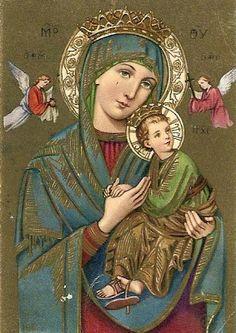 Imagenes Virgen del Perpetuo Socorro ~ Rayito de Colores