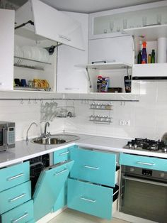 Ideas For Ikea Kitchen Remodel Cabinets Spaces Diy Kitchen Decor, Kitchen Interior, Kitchen Cabinet Design, Kitchen Cabinets, Small Kitchen, Kitchen Remodel, Small Apartment Kitchen, Diy Kitchen, Kitchen Decor Apartment