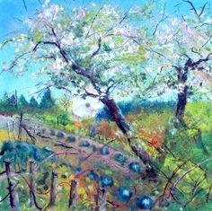 Spring Allotment #landscape #tree #art