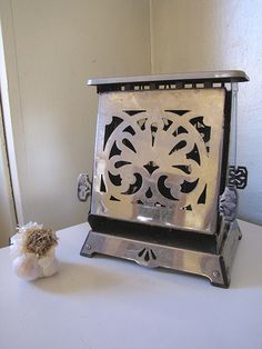 Antique toaster in my grand-ma's kitchen.