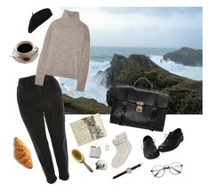 i should be on the edge of the cliff now by najmilsza on Polyvore featuring polyvore fashion style Vince Topshop Dolce&Gabbana Shinola Accessorize Tiffany & Co. Amy Winehouse clothing