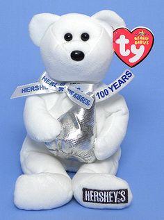Ty Beanie Baby - Hugsy the Bear Rare Beanie Babies, Beanie Baby Bears, Ty Beanie Boos, Ty Stuffed Animals, Plush Animals, Stuffed Toys, Ty Bears, Winnie The Pooh Christmas, Ty Babies