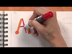 Hand Lettering with Brush Pens Tutorial by Calligrapher, Joanne Fink - YouTube