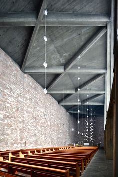 Rudolf Schwarz - Church of St. Anna, Duren...elegant dangly bits.