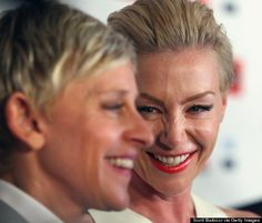 LOVE this couple: Ellen DeGeneres and Portia de Rossi