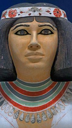 Nofret, Meidum, Old Kingdom, Egyptian Museum, Cairo - Egypt.