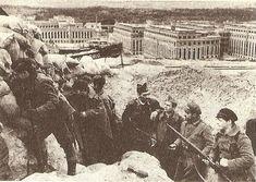 La Batalla por Madrid -Nov.1936 -Jul.1937 | Mundo Historia Milicianos de la Republica en la Ciudad Universitaria, en diciembre de 1936