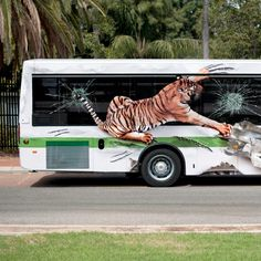 Creative Bus Advertising - Ads Archive