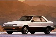 1990 Plymouth Sundance - 2nd new car - due to the fact that I blew up 1st new car. Wrecked this one!