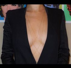 Body Chain 2.0 - Bralette/Belly Jewelry Necklace