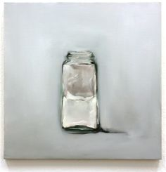 """Mollie Douthit; Oil 2013 Painting """"Contain"""""""