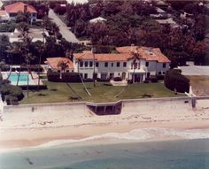 See furniture from the Kennedy Winter White House in Palm Beach, Florida!   Coastalliving.com