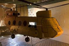 Cardboard Helicopter