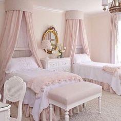 Perfection ✨  #bedroom #childrensroom #kidsroom #princess #bed