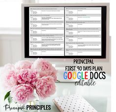 Principal Entry Plan- First 90 Days (Google Docs) Editable