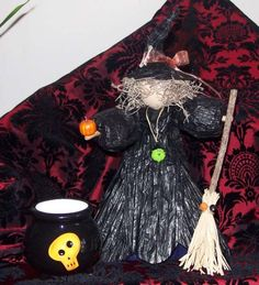 HaLLowEEn DecoR Witch Wonderfully Wicked by SauvageRavenCreation, $9.00