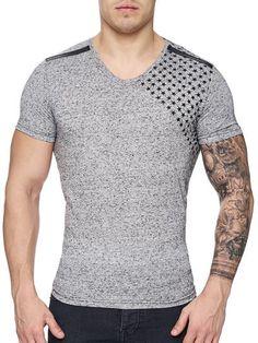 Hanes Men's Humor Graphic T-Shirt Cool Shirts, Tee Shirts, Fashion Pants, Mens Fashion, Independent Clothing, Male Fitness Models, Tee Shirt Designs, Men's Wardrobe, V Neck T Shirt
